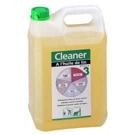 CLEANER HUILE DE LIN 5L