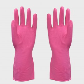 GANTS LATEX NATUREL MEN. ROSE